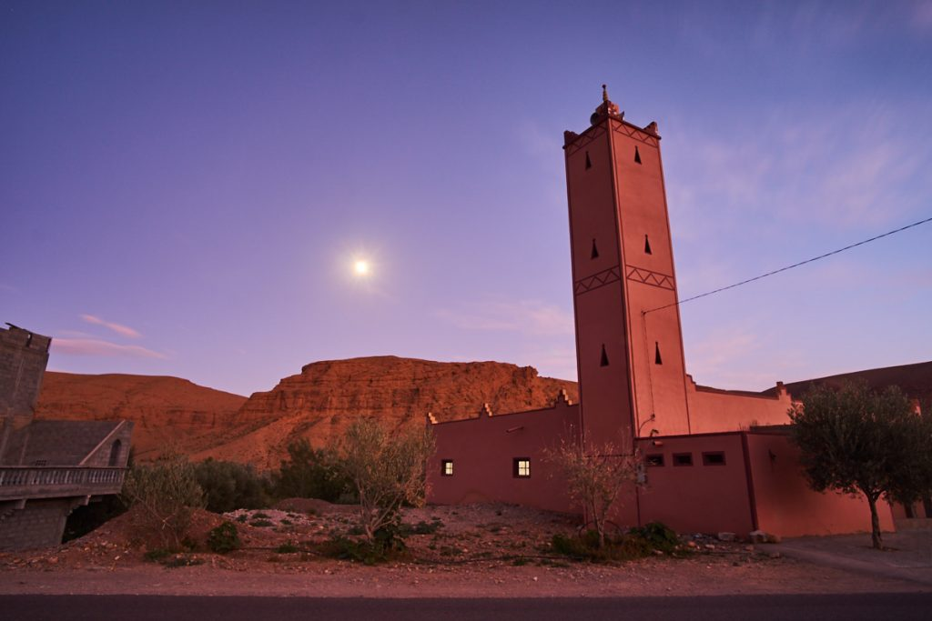 A Mosque Close to the Dades Gorges