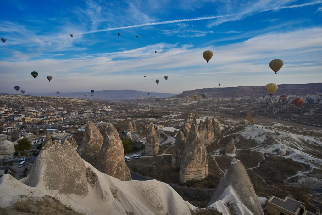 Hot Air Balloons over the Fairy Chimneys
